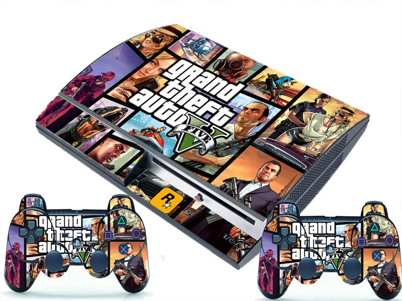 Gta 5 Playstation 3 : Ps fat polep gta v