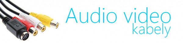 audio video kabely