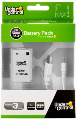 XBOX 360 Battery Pack - bílý