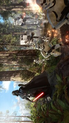 Plakát Star Wars Battlefront