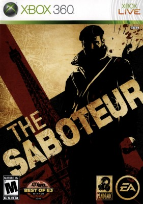 The Saboteur XBOX 360