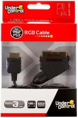 PS3 RGB Scart kabel