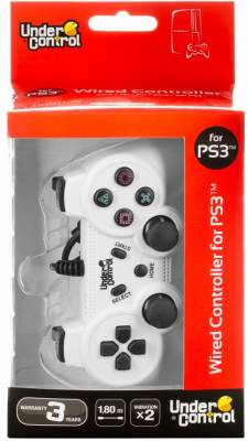 Joypad Under Control - white PS3/PC