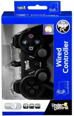 Joypad Under Control - black PS3/PC
