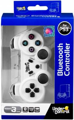 PS3 Bluetooth Controller bílý