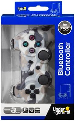 PS3 Bluetooth Controller CAMO SNOW