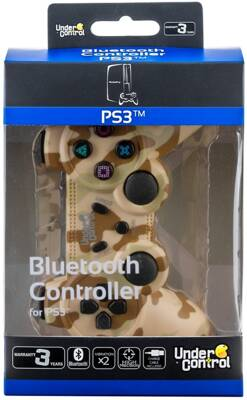PS3 Bluetooth Controller CAMO DESERT