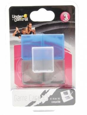 Game case 5x DS, DS Lite, DSi, DSi XL, 3DS, 3DS XL