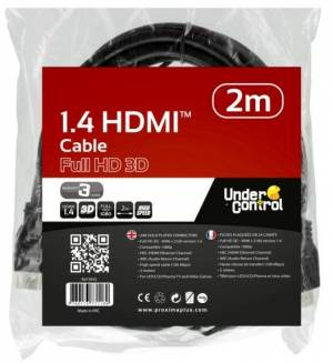 HDMI kabel 1.4 Full HD 3D - 2m