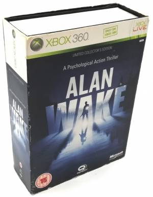 Alan Wake limited XBOX 360