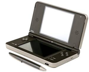 Nintendo DSi XL Dark Brown + hra New Super Mario Bros