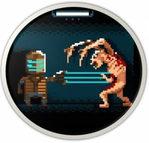 Placka Dead Space 8-bit