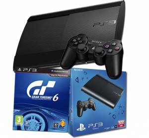 PlayStation 3 500GB + Gran Turismo 6 BAZAR záruka do 2.5.2016